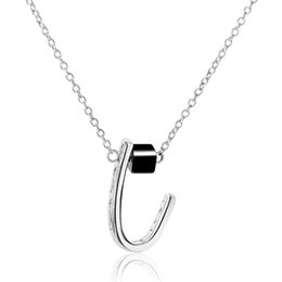 Best Wedding Pendant Australia - 2019 Trend Personality Pendant Necklace High Quality Silver Necklace Ladies Jewelry Adornment Party Wedding Best Gift