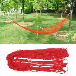 $enCountryForm.capitalKeyWord Australia - Swing Bed Sleeping Portable Nylon Hanging Mesh Beds Outdoor Indoor Active Breathable Traveling Camping Hiking Garden Hammock Bed