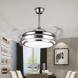 $enCountryForm.capitalKeyWord Australia - Modern Simple Ceiling Fans Lights Acrylic Leaf Led Ceiling Fans 110v 220v 36 42 Inch for Factory Office Livingroom Parlor