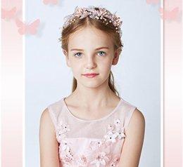 Новый и оригинальный дизайн Pearl детский ободок для волос необходим головной убор для женатых цветочных детей