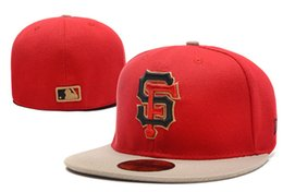 $enCountryForm.capitalKeyWord UK - One Piece Cheap All Team Fan's Giants SF Fitted Baseball Summer Hat On Field Mix Order Size Closed Flat Bill Base Ball Caps Free Shipping