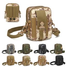 TacTical waisT pack pouch online shopping - Men Tactical Molle Pouch Belt Waist Pack Bag Small Pocket Waist Pack Running Pouch Travel Camping Bags Soft Back