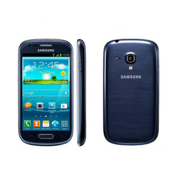 Mini caMera 3g online shopping - Samsung I8190 Galaxy SIII Mobile Phone S3 mini G WCDMA Wifi GPS MP Camera mAh Andorid Dual Core Original Refurbished Cellphone