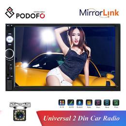 $enCountryForm.capitalKeyWord Australia - Podofo 2 Din 7''HD Car Radio Car DVD Player Touch Screen FM AUX USB SD Function + 12LED Car Rear View Camera