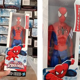 $enCountryForm.capitalKeyWord NZ - Spiderman Doll 30CM DC Toy Kids Gifts DHL Free Shipping 350pcs In stock Promotion Low Price SALE 100 pcs Start
