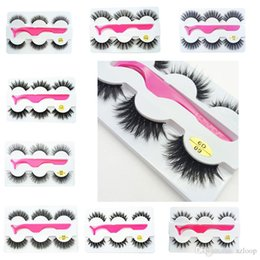 $enCountryForm.capitalKeyWord Australia - New 3Pairs Set 3d False Eyelashes Thick Long Eyelash Eye Makeup Eyelash Extension Eye Lashes with Eyelash Clip Applicator