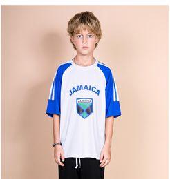 Wear Shirt For Girls Australia - BC big children's wear 3D digital printing short-sleeved t-shirt Chao Fan 2019 summer letters for boys and girls wild tops