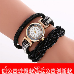 $enCountryForm.capitalKeyWord Australia - color twist around 2016 new bracelet table speed sell pass hot style ladies watch diamond-encrusted bracelet watch