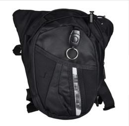 $enCountryForm.capitalKeyWord UK - Wholesale Hot Black Motocross leg bag Motorcycle riding bag Knight waist outdoor multi-function