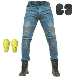 $enCountryForm.capitalKeyWord UK - PK718 KOMINE Motorcycle Men Pants Off-road Women Trousers Outdoor Men Jeans Cycling With Knee protect and Hip protect pads pants