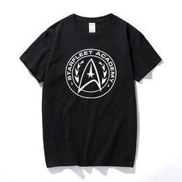 Discount star trek shirts - Starfleet academy mens t shirt tee star enterprise space trek retro gift summer top camiseta cotton short sleeve t-shirt