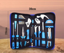 price tools Australia - power tool box 20 pieces tool kits screw driver wrench claw hammer bolt drawer cheaper price free shipping