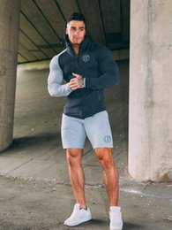 $enCountryForm.capitalKeyWord Australia - Sport Clothing Set Men Running Jogging Suits Male Gym Fitness Body building Sportwear Men's Hoodies+Pants Men Set Gym Track Suit