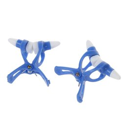 high nose beauty NZ - 2 Pcs Beauty Tool High Nose Up Maker Nasal Clip Blue w Silicone Pad
