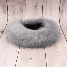 1ccdb6f740318 Winter Fox Faux Fur Headband For Lady Women Earmuff Wide Hairbands Warmer  Ear Turband Russian Cossack Style Hat Hair Accessories