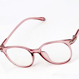 806c2979576 Fashion Round Myopia Glasses Frame Men Women Reading Eyeglasses Frames  Vintage Computer Clear Lens Fake Spectacles Lunettes