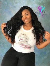$enCountryForm.capitalKeyWord Australia - Lucky Queen Brazilian Loose Wave Bundles Natural Black Color 1B Remy Extensions Human Hair Weave Bundles 1 3 4pcs Lot 10-28 Inch