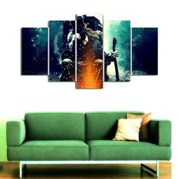 $enCountryForm.capitalKeyWord UK - Abraham Lincoln - Vampire Hunter,5 Pieces Home Decor HD Printed Modern Art Painting on Canvas (Unframed Framed)
