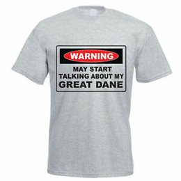 eed72f51 MAY START TALKING ABOUT MY GREAT DANE - Dog Funny Gift Idea Mens T-Shirt