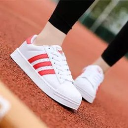 $enCountryForm.capitalKeyWord NZ - Shell head classic shoes men and women low to help small white shoes flat bottom couple sports casual shoes 33