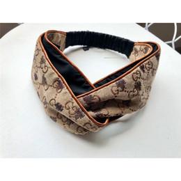 $enCountryForm.capitalKeyWord Australia - Tide Brand Headband with Logo Delicate Hair Band with Print Bee Fashion Stretch Hair Band with Box