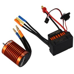 $enCountryForm.capitalKeyWord UK - SURPASS HOBBY Upgrade Waterproof F540 3000KV Brushless Motor with 45A ESC Combo Set for 1 10 RC Car Truck