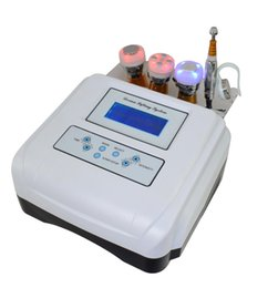$enCountryForm.capitalKeyWord Canada - Portable Electroporation Device no Needle Mesotherapy Machine for Skin Care Facial Lifting Electrophoresis Cooling Ultrasonic Free Shipping