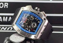 $enCountryForm.capitalKeyWord Australia - Classic Automatic Luxury Felipe Massa Flyback Mechanical Rubber Watches Mens Skeleton Stainless Wrist watch For Men Sale Free Shipping