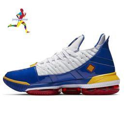 $enCountryForm.capitalKeyWord Canada - Newest Designer Brand Designer Luxury 16 16s Basketball Shoes Mens XVI Watch The Throne HFR Gold boy trainer running sports shoes size 7-12