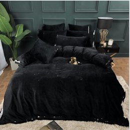 goose down bedding NZ - 2020 dhl Designers Luxury Bedding Sets King or Queen Size Bedding Sets Bed Sheets 4pcs Comforter Luxury Bed Comforters Sets Warm Cover
