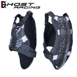 motorcycle protection jacket Australia - reflective vest motross Back Support Motorcycle Full Body Armor Jacket Spine Chest Protection Gear