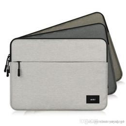 "$enCountryForm.capitalKeyWord Australia - Wholesale nylon soft 11"" 12"" 15"" 13""13.3 Nyon Men Felt Laptop Bag Case for Asus HP Lenovo Acer Dell Apple 13 Laptop Sleeve Waterproof"