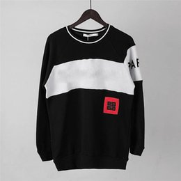 $enCountryForm.capitalKeyWord NZ - Brand Mens Pullover Long Sleeved Letter Embroidery Clothes 2018 New Hoodies Sweatshirts Fashion Pullover Sweatshirts M-3XL New Arrivals