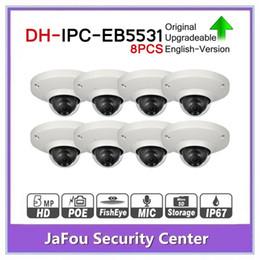 $enCountryForm.capitalKeyWord Australia - DH IPC-EB5531 5MP Panoramic Network 1.4mm Fisheye Camera 8pcs lot H.265 H.264 3DNR AWB AGC BLC IP67 PoE Detect Built-in Mic