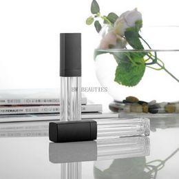 Discount high end lipstick - 100Pcs Lot 10ml Arcylic Empty Lip Gloss Tube, High-end Lipstick Refillable Tube, Top Quality Eyelash Cream Cosmetic Cont