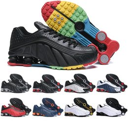 Discount basketball shox shoes - Air Shox Shoes Men Shox Avenue 802 Basketball Shoes NZ OZ R4 Shox Avenue Sneakers us Size 7 - 11 Free Shipping