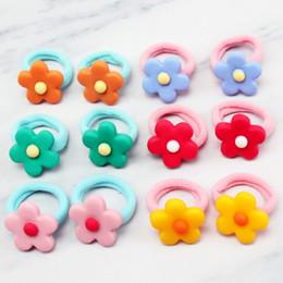 Discount princess ponytail - ncmama 12PCS Hair Accessories Princess Elastic Rubber Band for Girls Cute Flower Hair Ring Handamde Ponytail Gum for Kid