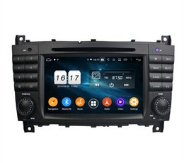 "mercedes benz car radio Canada - DSP 4GB RAM Octa Core 7"" Android 9.0 Car Radio DVD Player Car DVD for Mercedes Benz C-Class W203 CLC G Class W467 GPS WIFI Bluetooth 4.2"