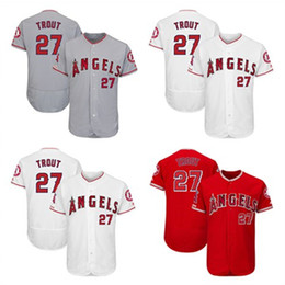 9b1193a08 Mens Mike Trout Shohei Ohtani Custom LA Angels Kole Calhoun Justin Upton Zack  Cozart Albert Pujols Los Angeles Matt Harvey Baseball Jersey