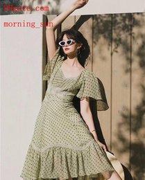 $enCountryForm.capitalKeyWord Australia - summer dresses Sexy Women Dresses Print V- Neck chiffon dress Lady brand women Clothes Casual ladies Pleated jupe jumpsuits skirt