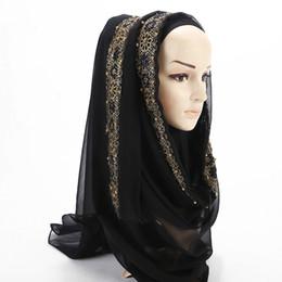 China Fashion Women Rhinestone Lace Scarf Wrap Style Muslim Hijab Ethnic Islamic Dubai Arabic Morocco Ramadan Shawls Headwear VKHJ1011 supplier linen scarves muslim suppliers