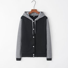 $enCountryForm.capitalKeyWord Australia - JAYCOSIN baseball jacket Women Printing Long Sleeve Casual Blouse Sweatshirt Loose Coat 2019 Autumn Winter New Cool Girl Outwear