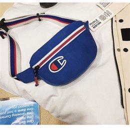 Costume Backpack Australia - 2019 Champions Fanny pack Canvas Shoulder Bags Backpack Fashion Men Women Casual Sports outdoor Designer Waist Bag Travel Phone Wallet C3152