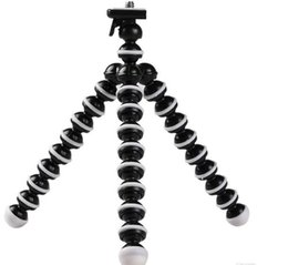 tripod manfrotto Canada - Phone Holder Flexible Octopus Tripod Bracket selfie Expanding stand mount manfrotto support Car style For Mobile Phone Camera