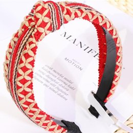 a26cb3fc2bb Braided Headband for Women Hair Accessories Weave Hairband Elegant Ladies  Headband Fancy Turban Toothed Girl
