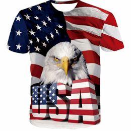 3d tshirt sexy online shopping - 2018 New USA Flag T shirt Men Women Sexy d Tshirt Print Striped American Flag Men T Shirt Summer Tops Tees Plus XL XL
