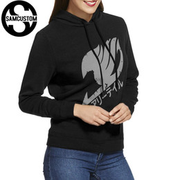 fairy tail prints Australia - SAMCUSTOM New style Ladies Hoodies and No pockets Sweatshirts Fairy Tail 3D print Fashion hoodie For Women