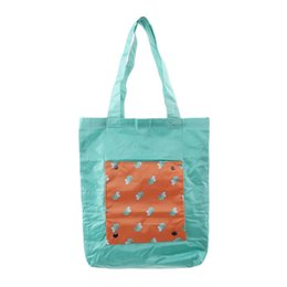 $enCountryForm.capitalKeyWord Australia - LKEEP High-Quality Reusable Handbags Hand-painted Bag High-capacity Grocery Grab Shopping Bags Foldable Storage Bag Women Tote