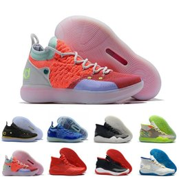$enCountryForm.capitalKeyWord Australia - New Mvp Kevin Durant KD 12 11 Anniversary University 12s 11s Oreo Men Basketball Shoes USA Elite KD12 EYBL Multicolor Sports Sneakers 40-46