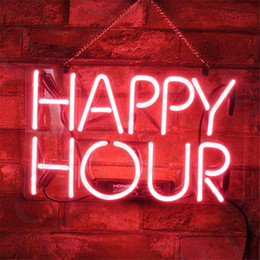 $enCountryForm.capitalKeyWord UK - New Star Neon Sign Factory 14X9 Inches Real Glass Neon Sign Light for Beer Bar Pub Garage Room Happy Hour.